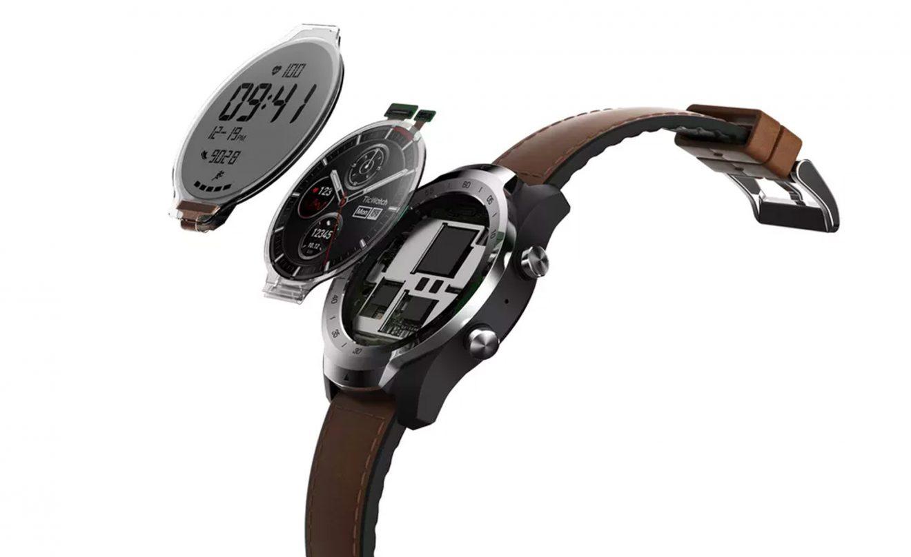 TicWatch Pro : pour se différencier, du Wear OS avec deux écrans pour sa nouvelle montre