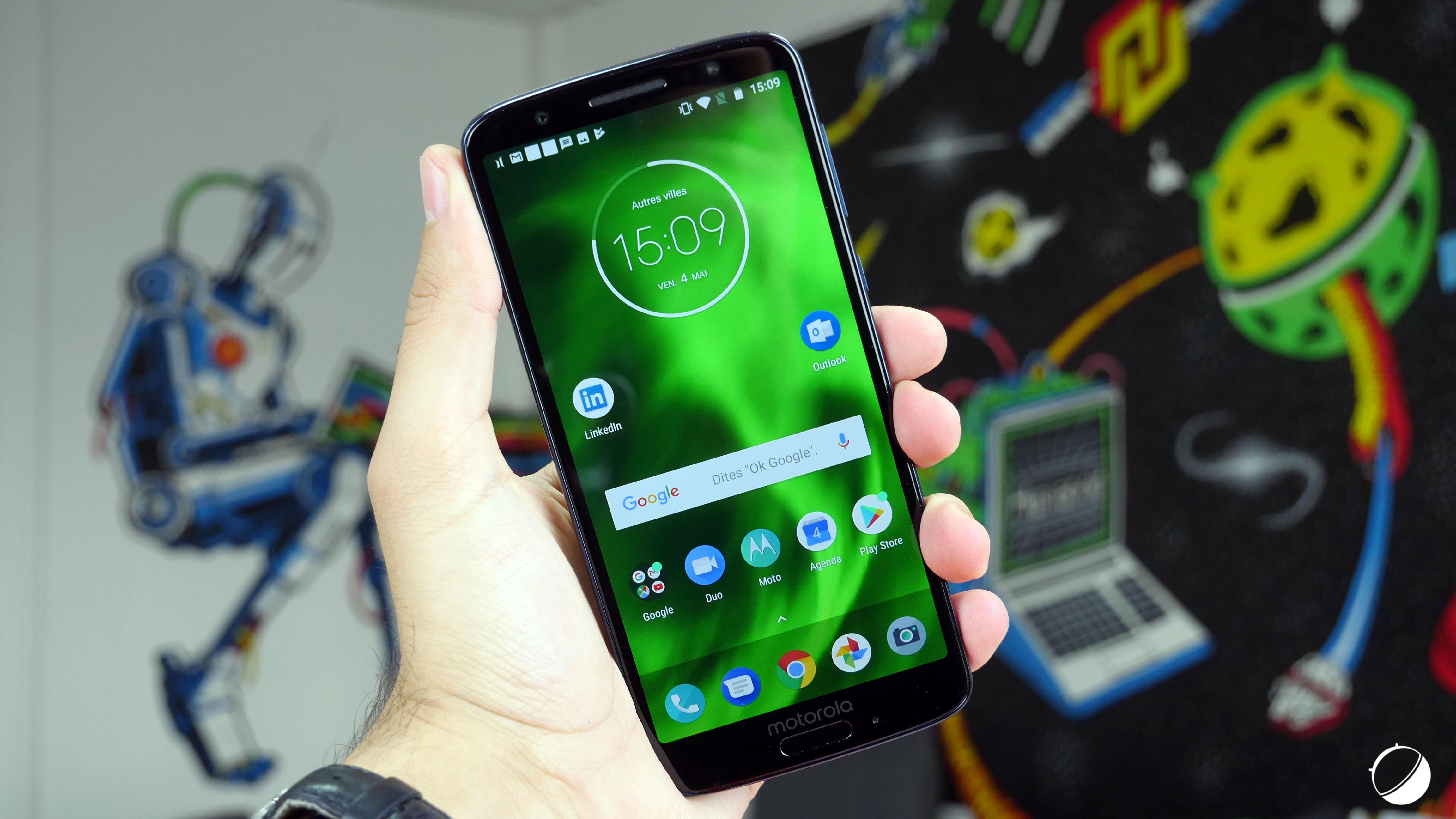 🔥 Bon plan : le Motorola Moto G6 Play est disponible pour 165 euros au lieu de 200 euros