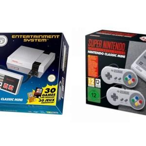 🔥 Bon plan : un pack NES Classic Mini et SNES Classic Mini à 129 euros sur Cdiscount
