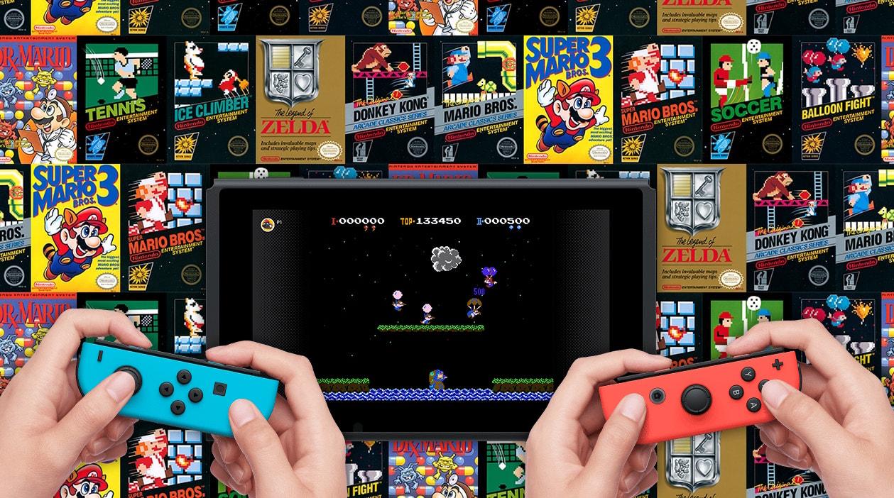 Nintendo Switch Online : des sauvegardes en ligne et 20 jeux NES pour le lancement de l'abonnement