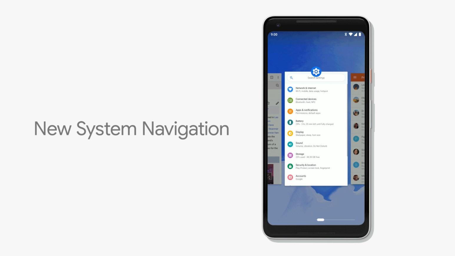 Android P : comment activer la nouvelle navigation par gestes