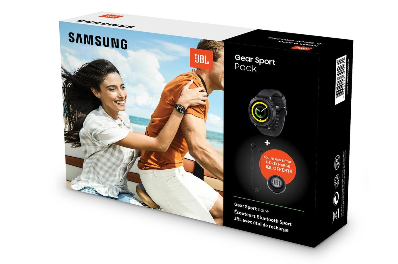 🔥 Bon plan : un pack Samsung Gear Sport avec les écouteurs JBL Inspire 700 à 299 euros