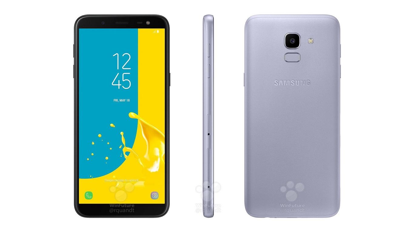 Samsung Galaxy J6 2018 : des rendus le montrent sous tous les angles