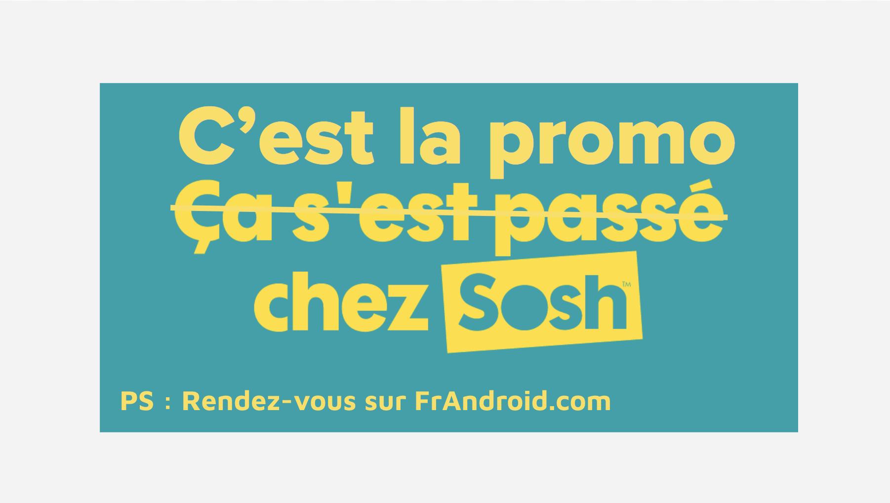 Sosh baisse temporairement le prix de son offre Fibre/ADSL/VDSL et forfait mobile 2h à 15 euros/mois