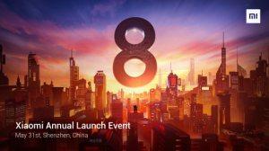 Xiaomi Mi 8, MIUI 10, Xiaomi Mi Band 3 : comment suivre la conférence en direct