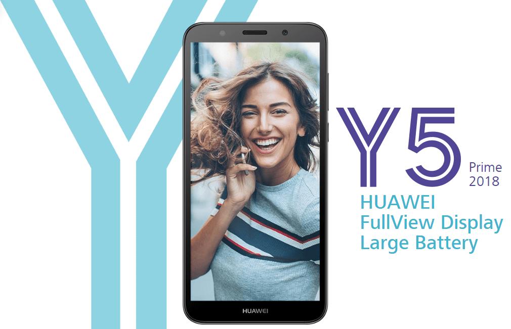 Huawei Y5 Prime 2018 officialisé, un timide smartphone en entrée de gamme