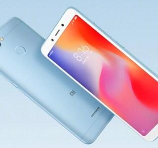 Xiaomi Redmi 6 et 6A officialisés : la photo et l'IA à petit prix