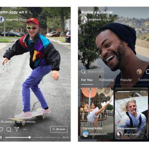 Contre YouTube, Instagram lance IGTV : un service de vidéo long format en mode portrait