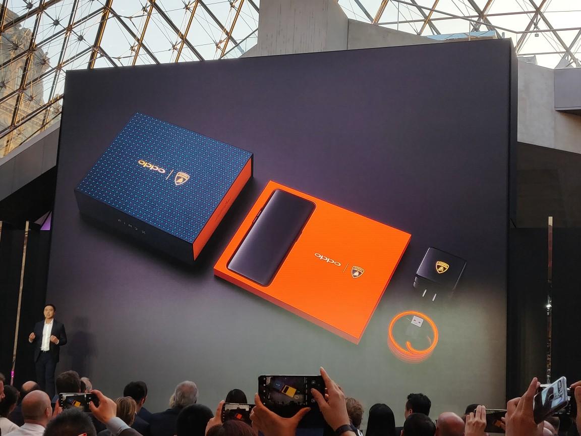 Oppo Find X Lamborghini : une recharge complète en 35 minutes grâce à la Super VOOC