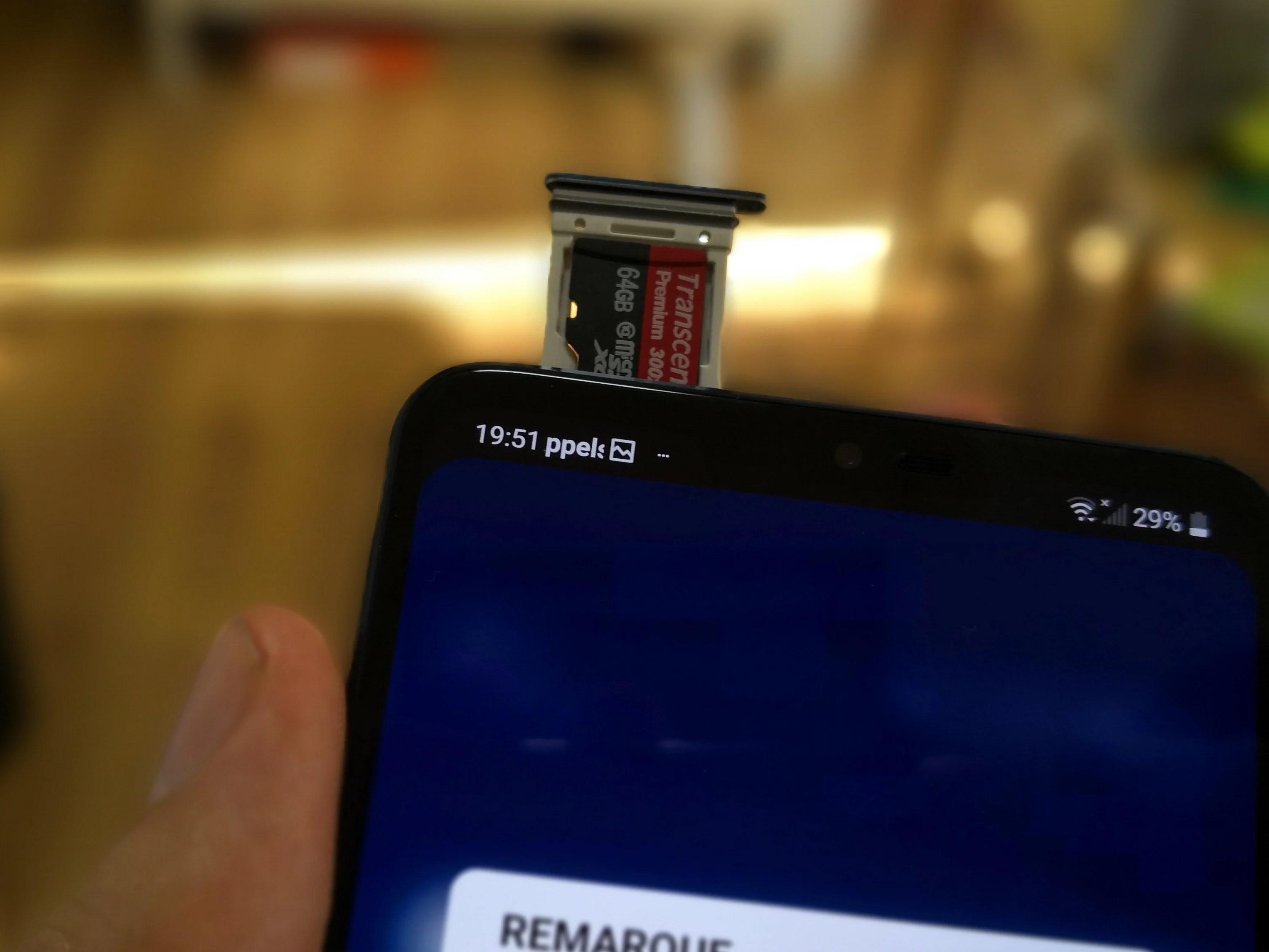 Sondage de la semaine : utilisez-vous une carte microSD dans votre smartphone ?