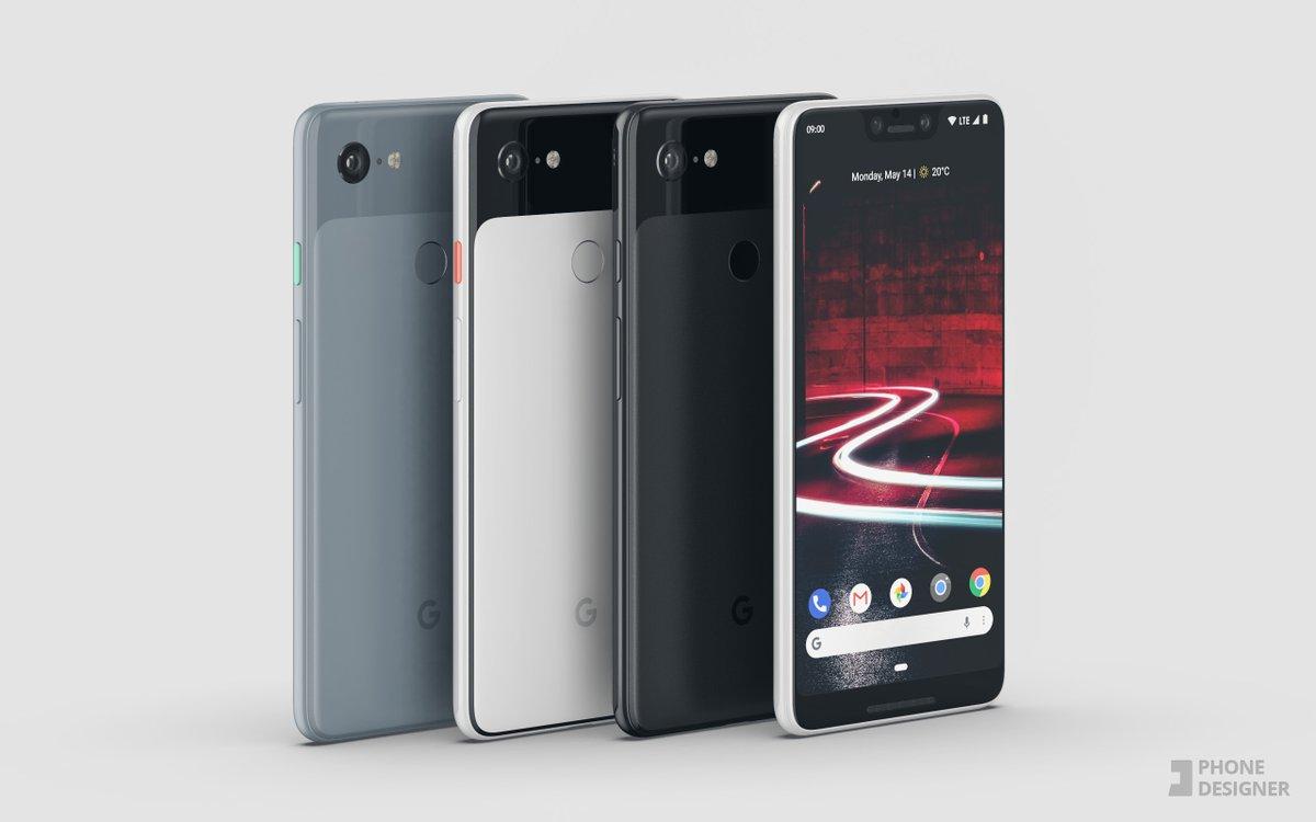 Google Pixel 3 XL : en attendant sa sortie, admirons-le avec les coloris des Pixel 2