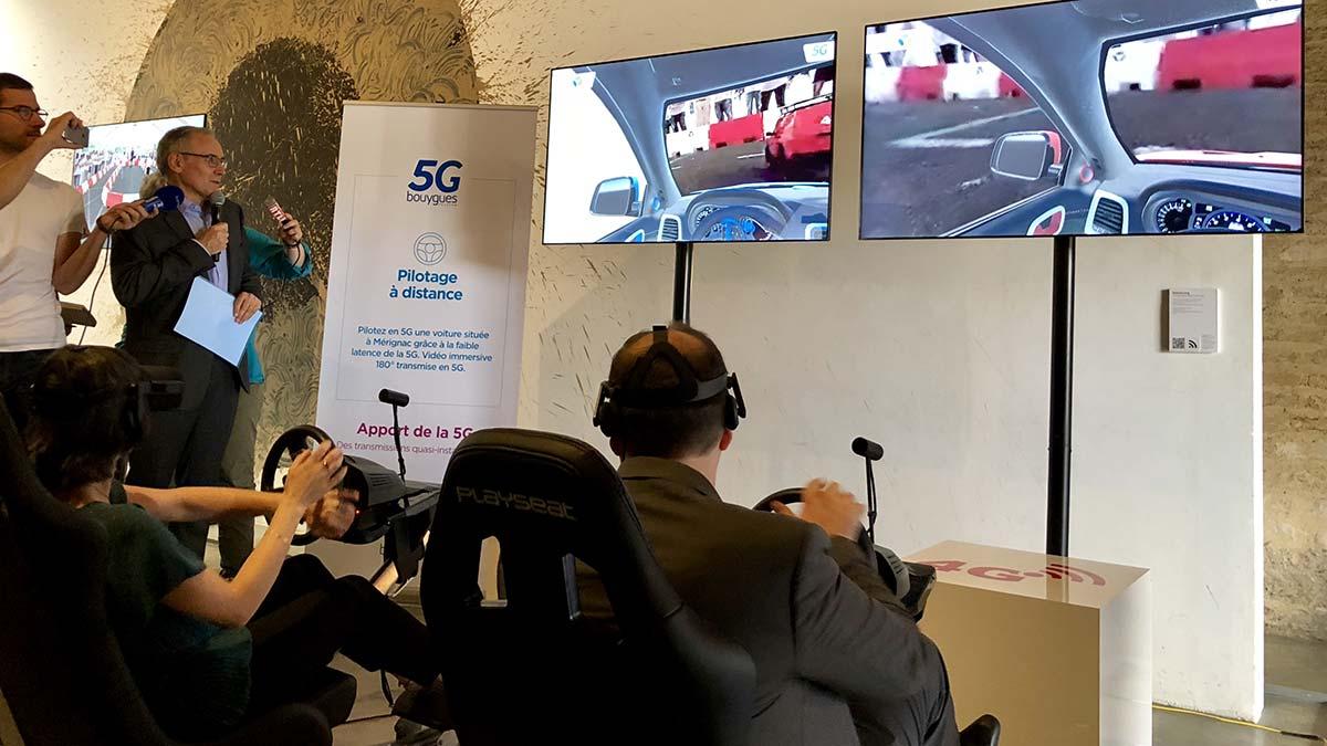 5G : l'avenir vu par Bouygues Telecomen 4 démonstrations concrètes