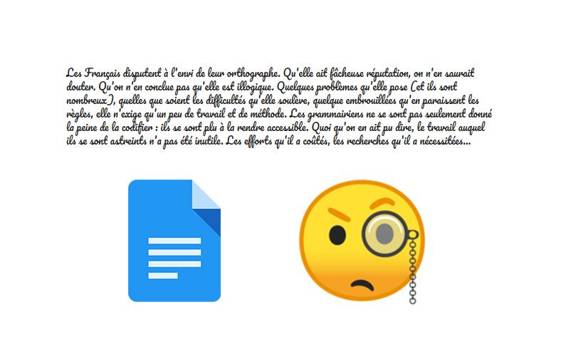 Google Docs accueille enfin un correcteur de grammaire pour éviter les vilaines fautes