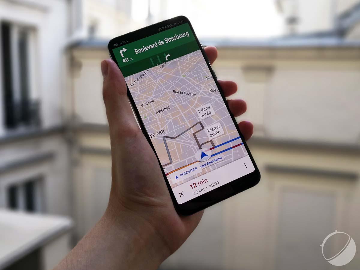 Navigation pour Google Maps Go : l'appli allégée vous emmène où vous voulez désormais