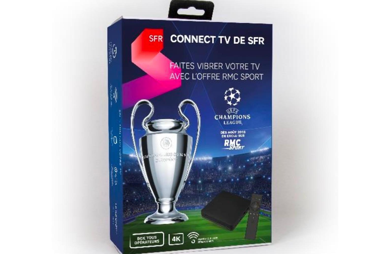 « Connect TV de SFR » : une box Android TV pour accéder au contenu SFR