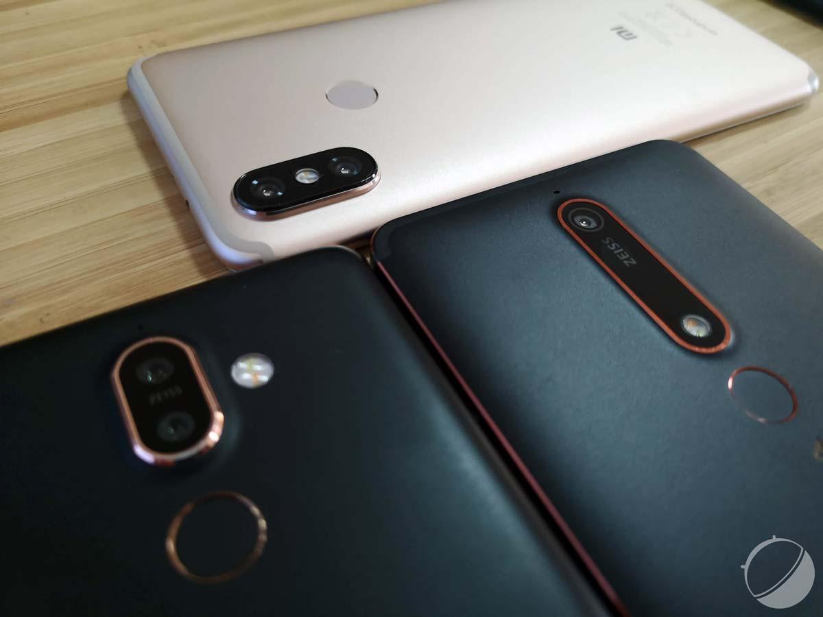 Xiaomi Mi A2, Nokia 6.1, Nokia 7 Plus : comparatif du meilleur d'Android One
