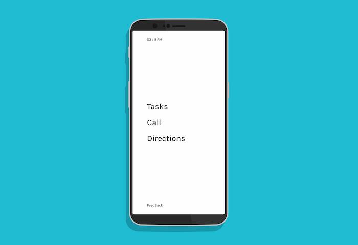NoPhone : ce launcher veut vous éloigner de votre téléphone