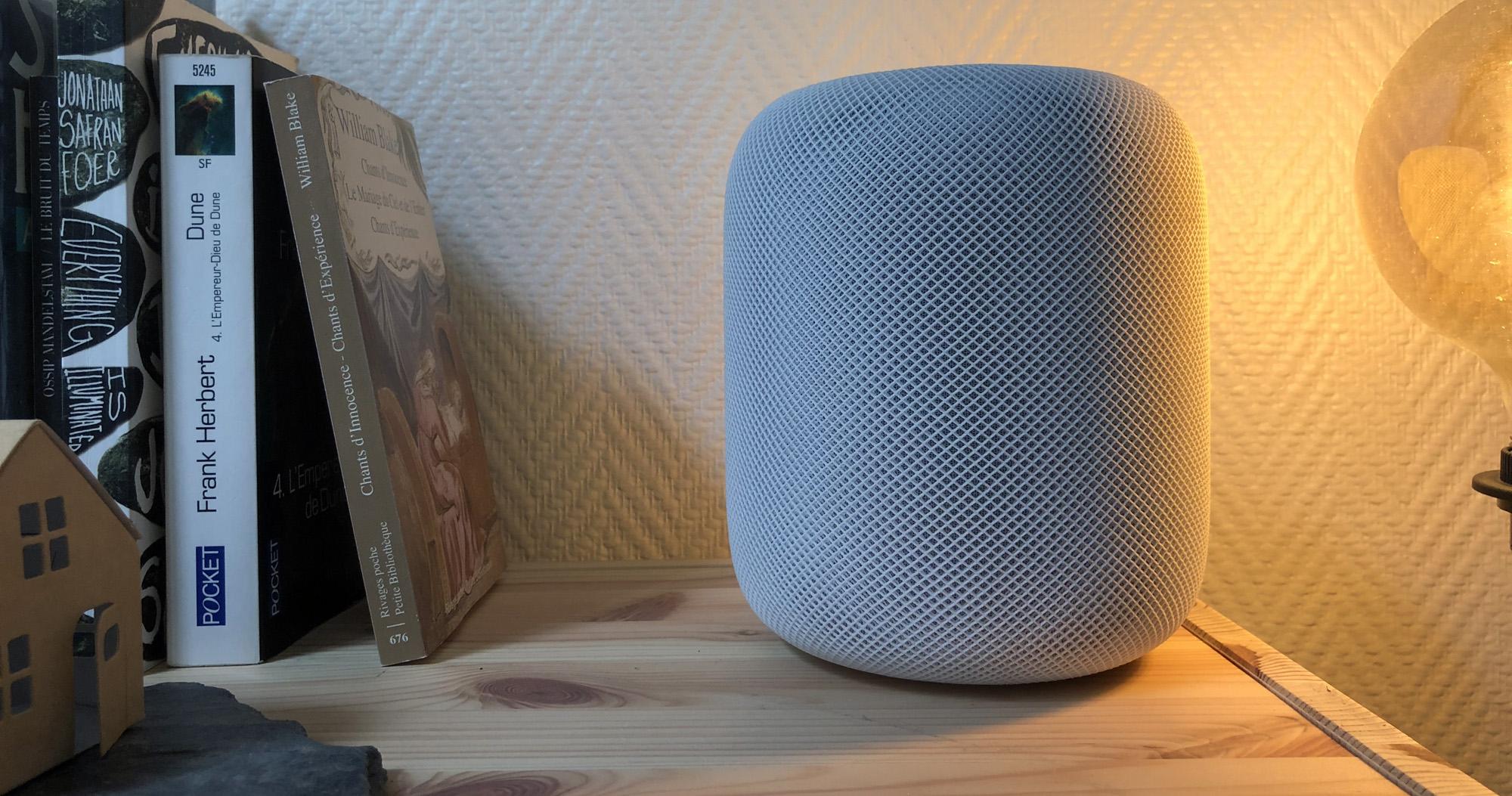 Apple Homepod : iOS 12 va permettre de passer des appels avec l'enceinte connectée