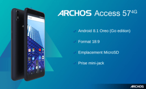 Archos dévoile son smartphone Android Go avec prise jack – IFA 2018