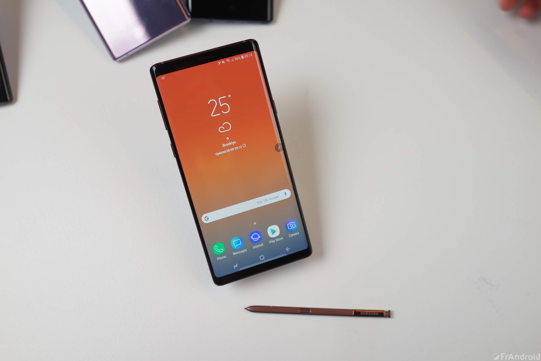 Le Samsung Galaxy Note 9 est disponible à l'achat sur Rue du Commerce