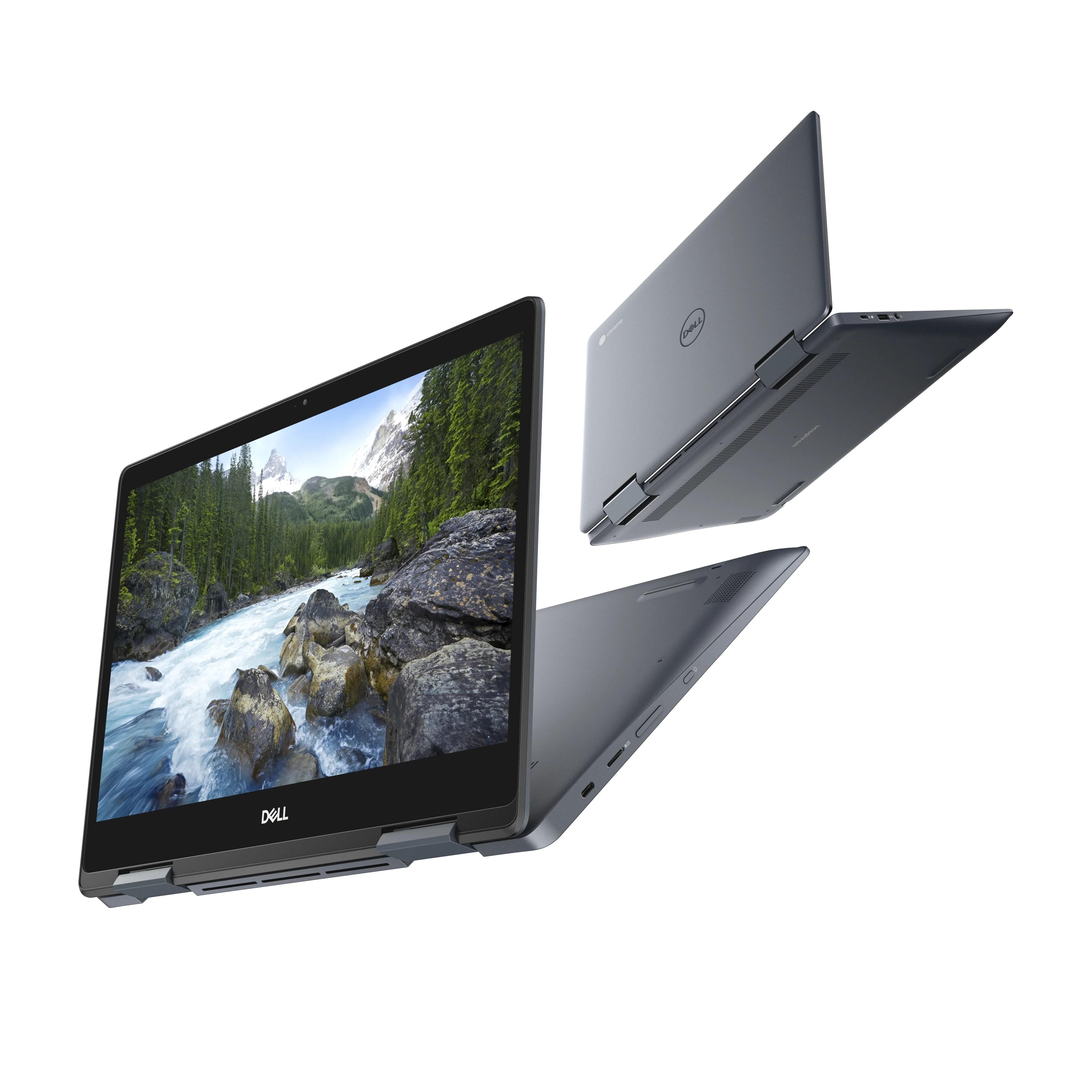 Dell Chromebook 14 2-en-1 : Chrome OS toutes options dans un châssis premium