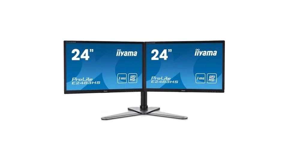 🔥 Bon plan : un pack deux écrans PC 24 pouces avec support double bras à 275 euros