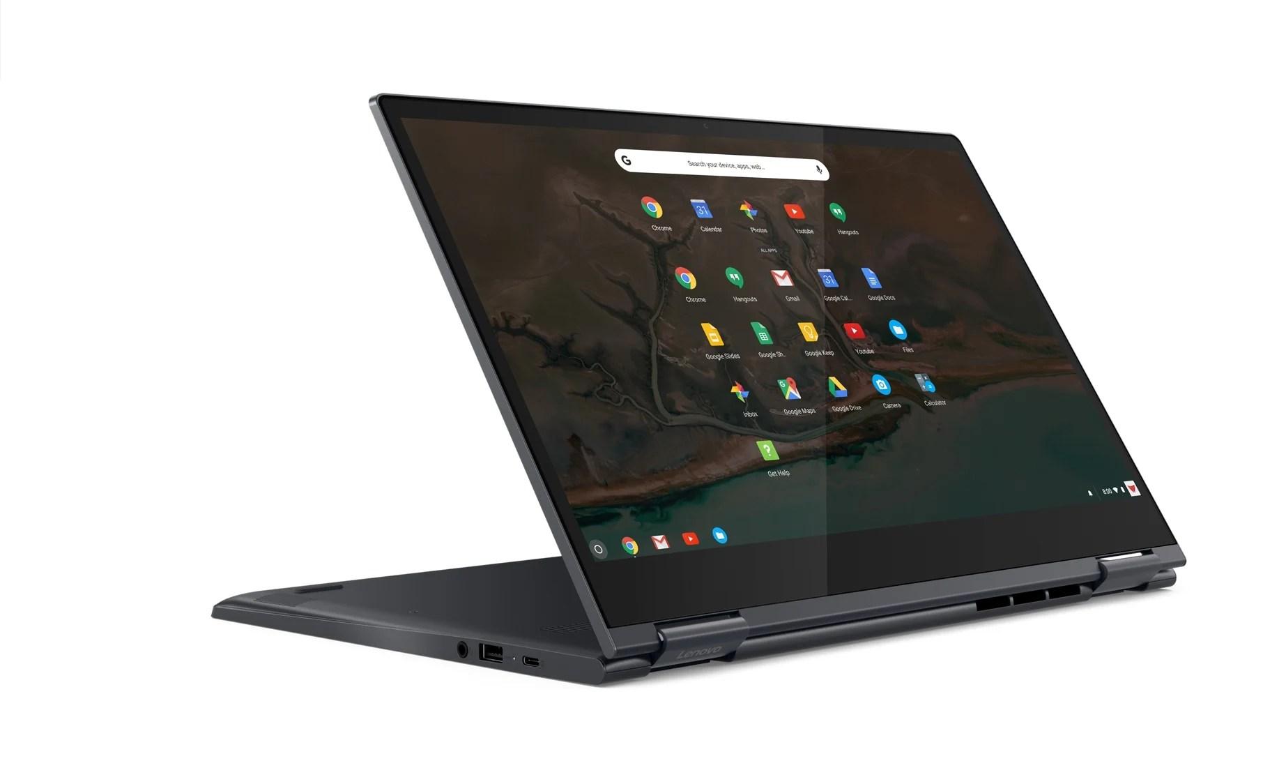 Lenovo Yoga Chromebook : écran 4K et Core i5, Chrome OS n'est plus réservé à l'entrée de gamme