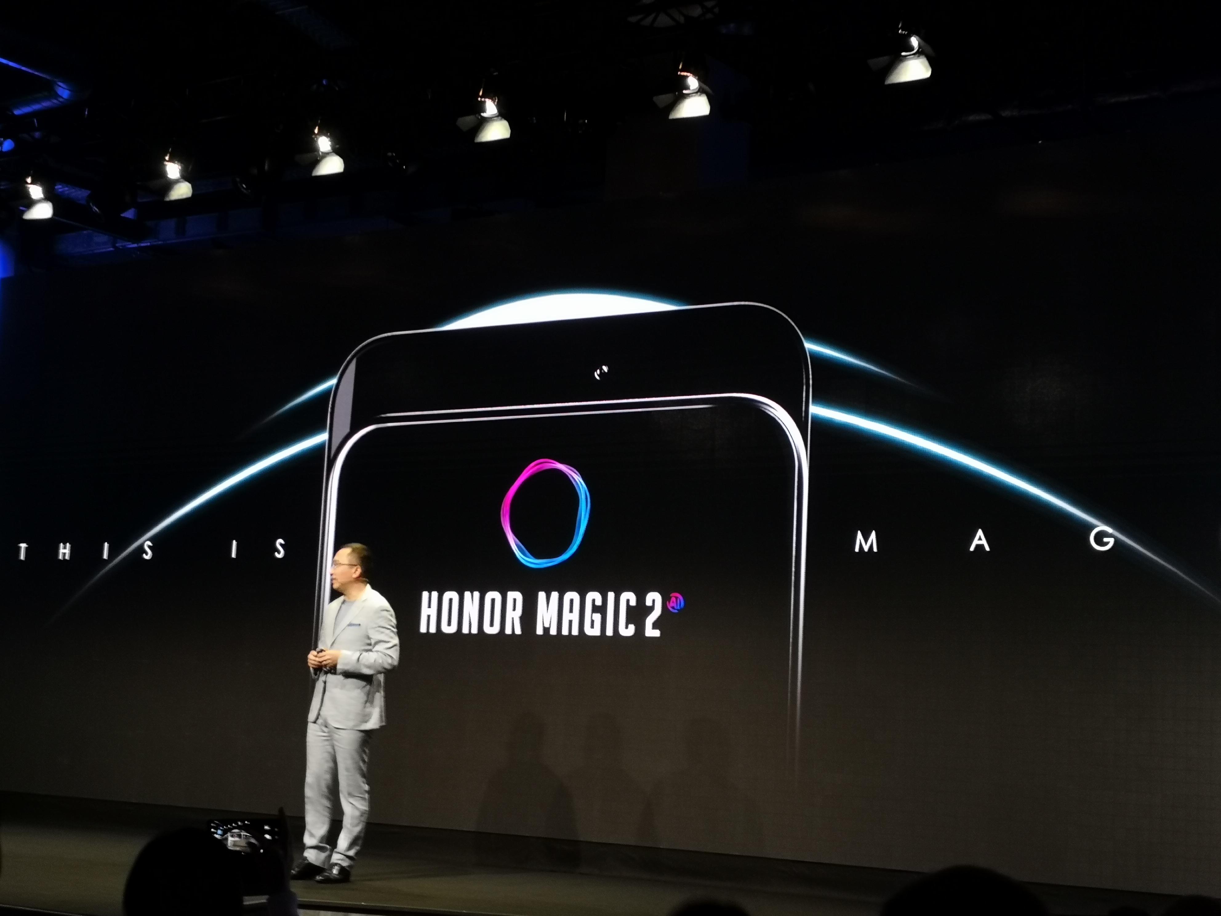 Un Honor Magic 2 sans encoche avec caméra coulissante annoncé pour bientôt