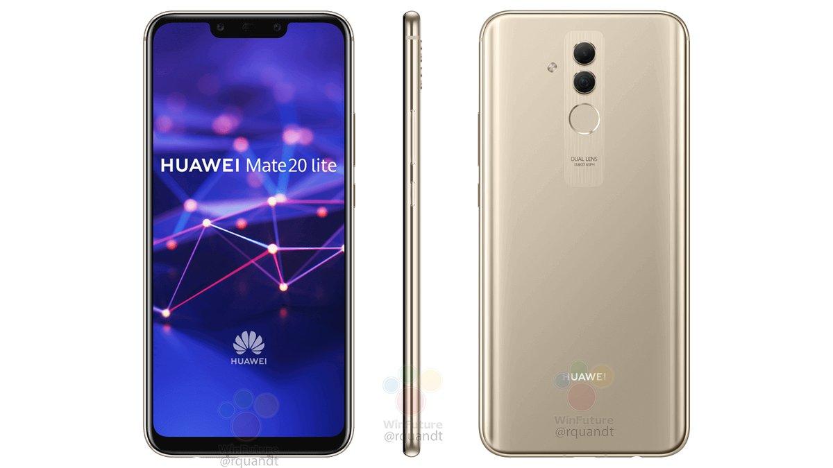 Le Huawei Mate 20 Lite apparaît en images et dévoile quelques caractéristiques