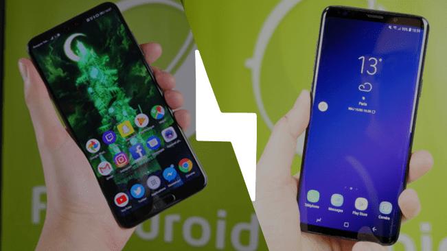 Huawei P20 Pro vs Samsung Galaxy S9 Plus : quel est le meilleur smartphone en 2018 ?