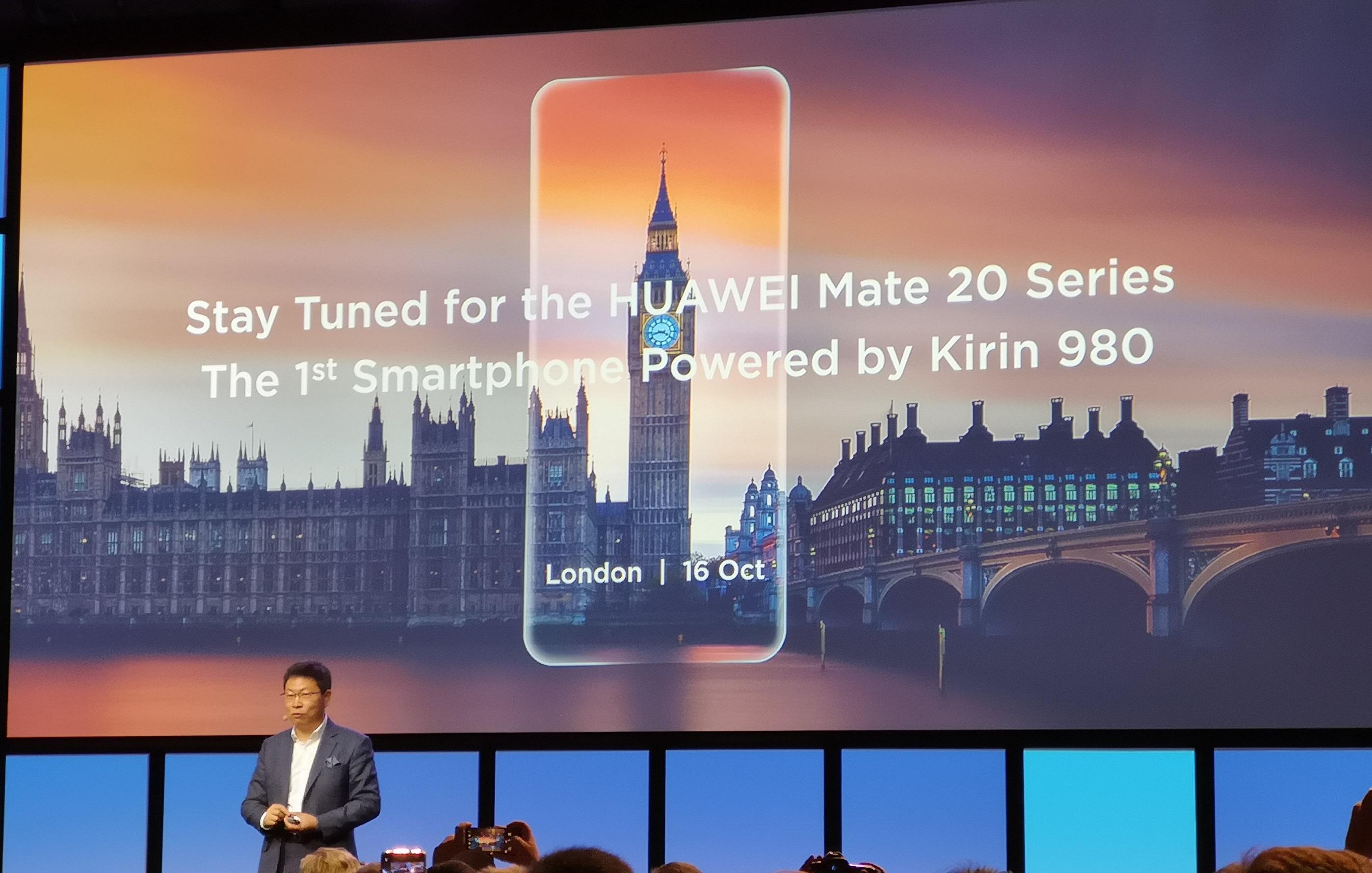 Huawei Mate 20 et Mate 20 Pro : on connaît la date de la présentation officielle