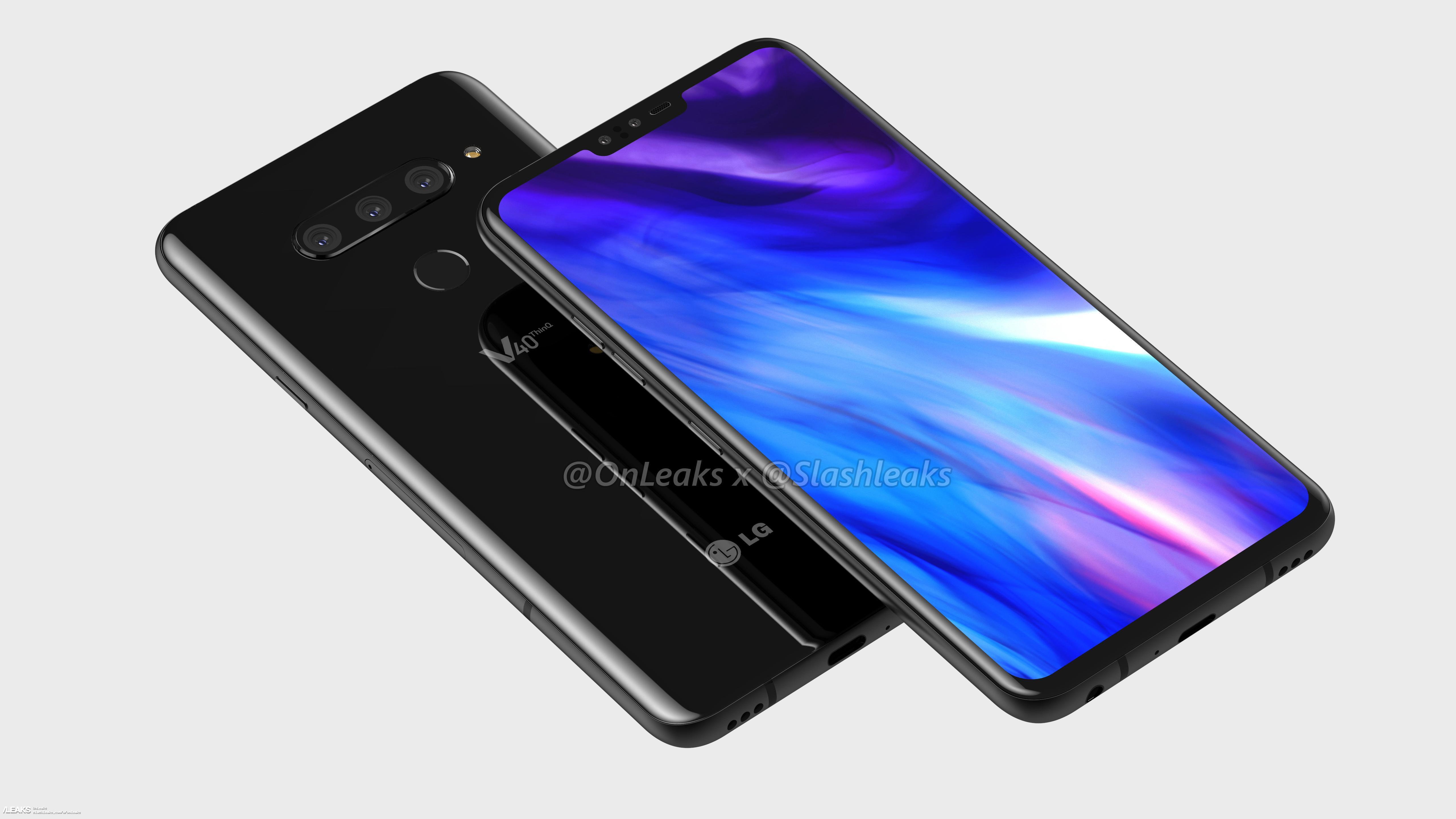 LG V40 ThinQ : une date de présentation pour le smartphone au triple capteur photo