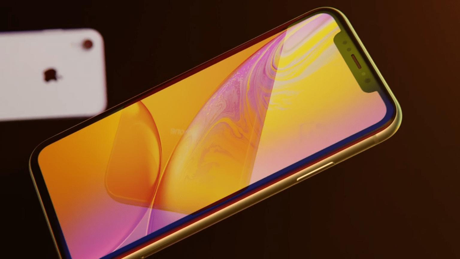 iPhone XR : Apple présente le clone de l'iPhone X le plus cher de l'année