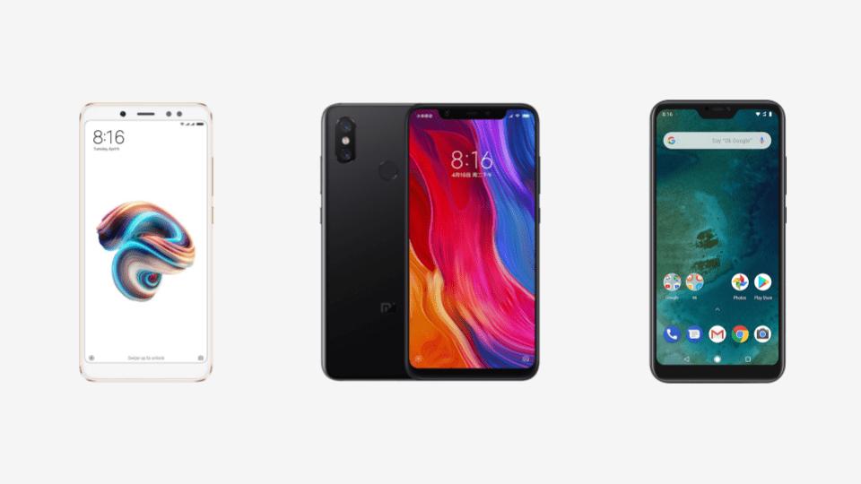🔥 Déstockage Xiaomi : Mi 8 à 391 euros, Redmi Note 5 à 147 euros, Mi A2 Lite à 165 euros et bien d'autres