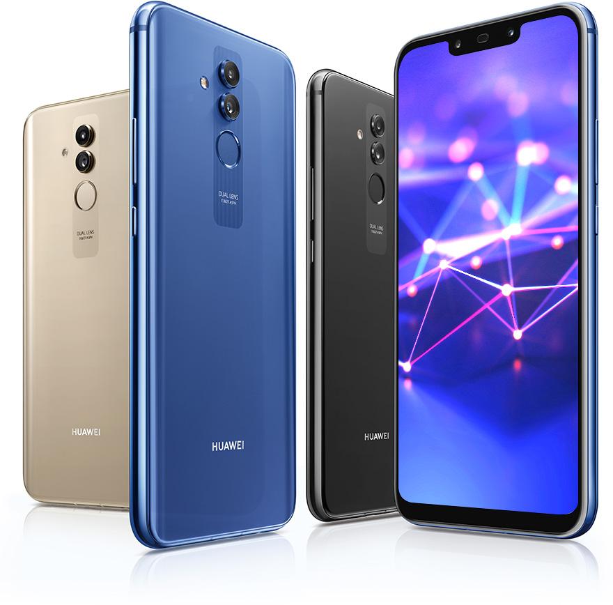 Le Huawei Mate 20 lite est officiel : un P Smart+ un peu différent
