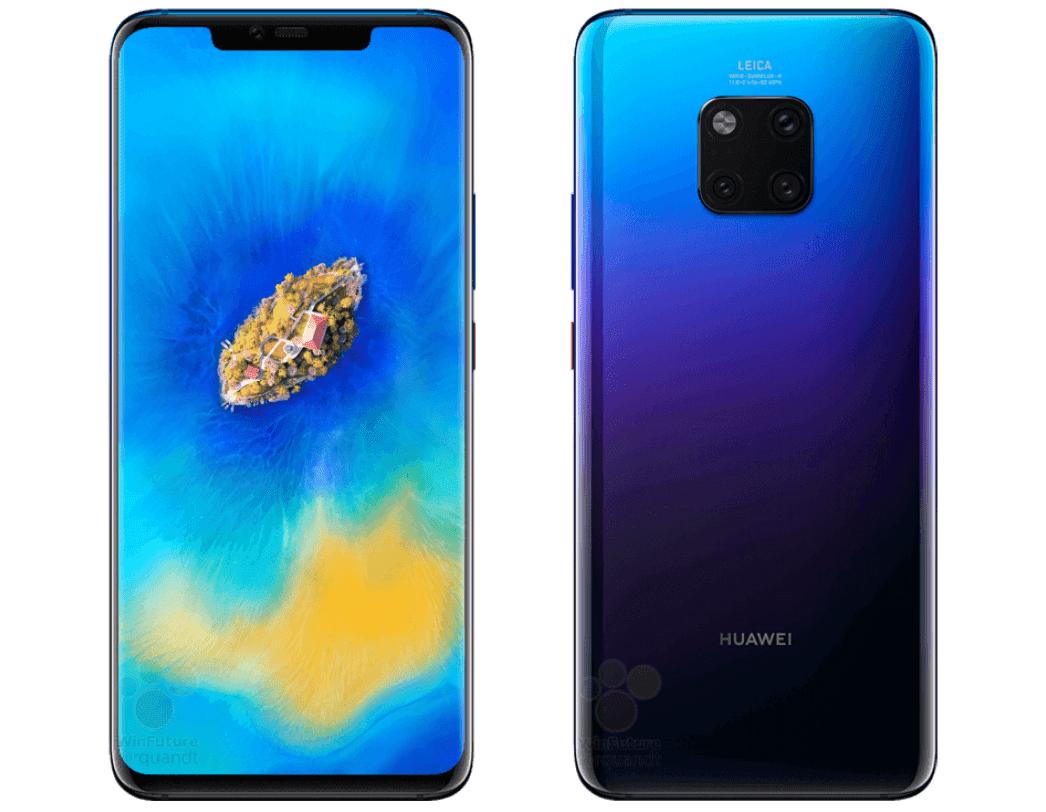 Huawei Mate 20 Pro : une nouvelle fuite confirme le prix, les caractéristiques et les cartes mémoire propriétaires