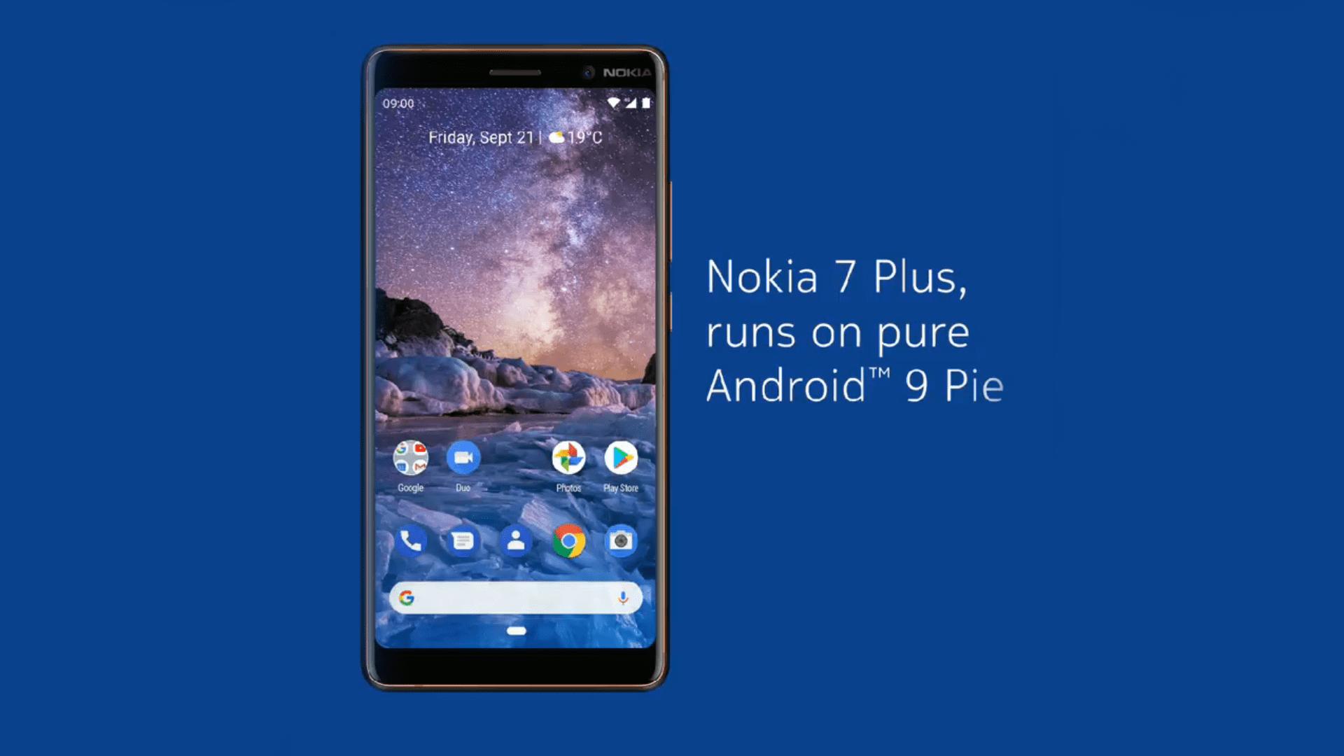 Le Nokia 7 Plus mis à jour vers Android 9 Pie