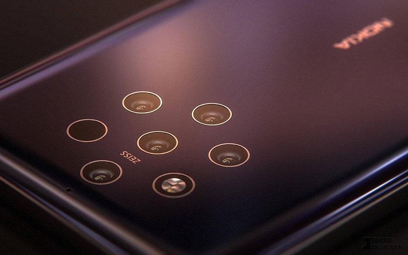 Le Nokia 9 et ses 5 capteurs arrières se montrent en rendu, la production accélère