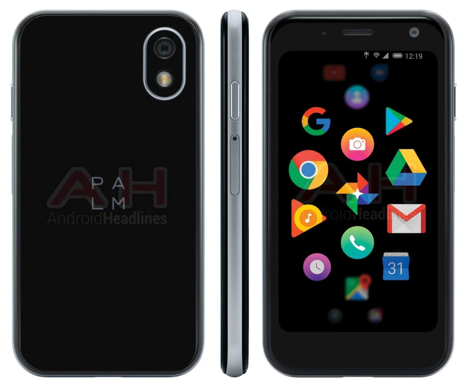 Palm : le petit smartphone du grand retour se dévoile à nouveau en images