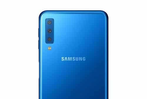 Samsung Galaxy A7 2018 : des rendus le montrent avec un triple capteur photo