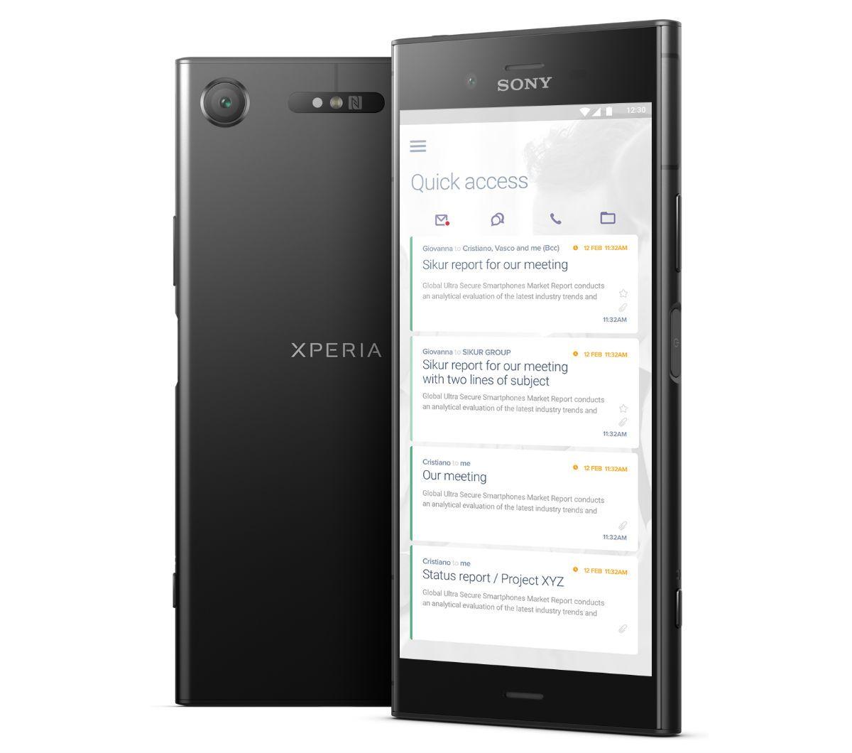 SikurPhone : des Sony Xperia «sécurisés» pour les amateurs de cryptomonnaies