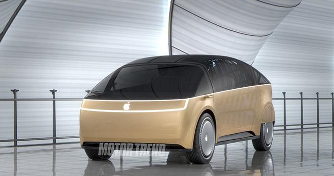 Apple imagine une voiture enroulée d'une bande lumineuse qui vous prévient des dangers