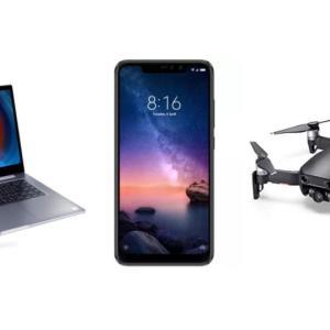Xiaomi Redmi Note 6 Pro à 183 euros, Mi Notebook Pro à 713 euros et DJI Mavic Air à 600 euros sur GearBest