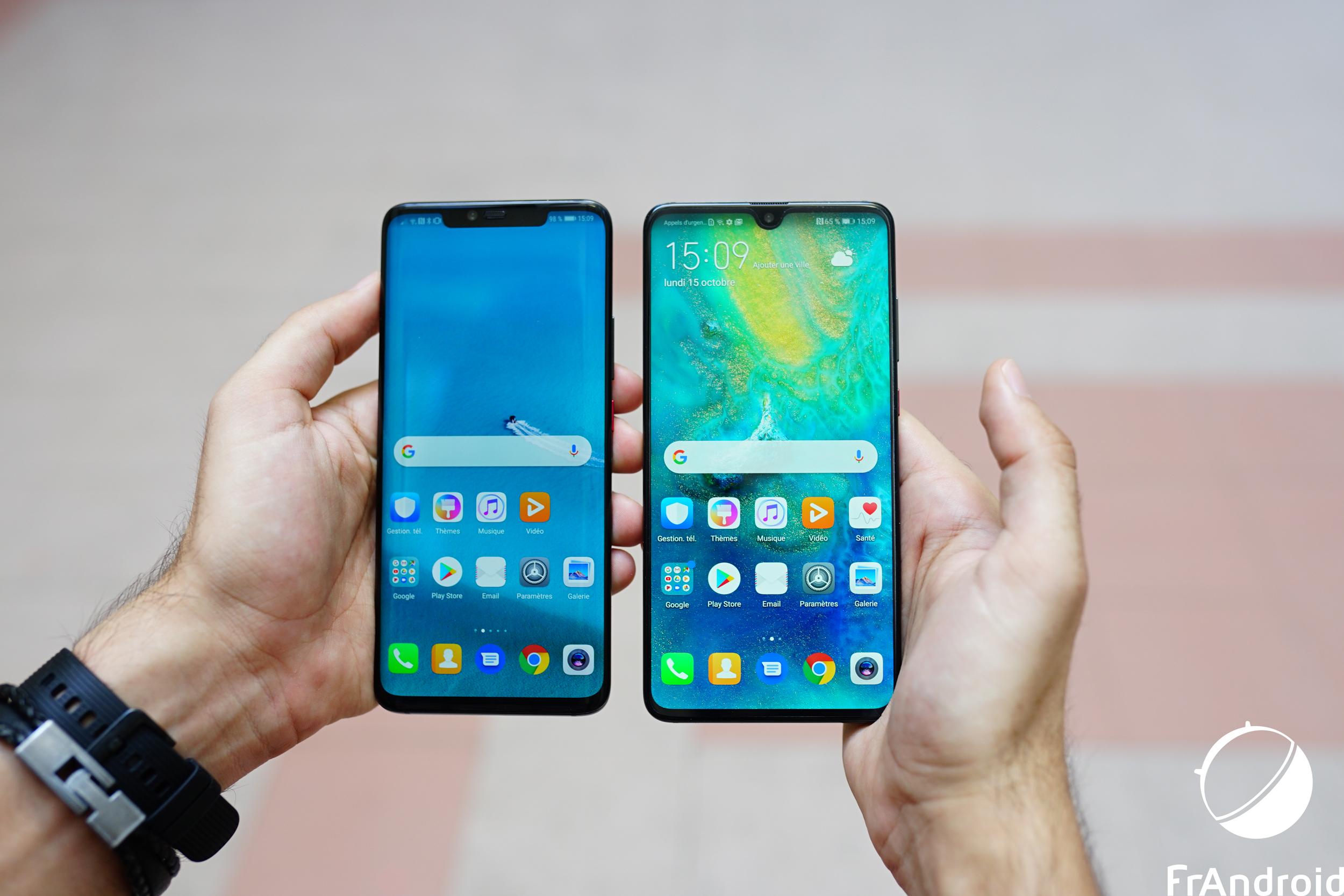 3 actualités qui ont marqué la semaine : l'annonce des Huawei Mate 20, Google contre l'UE et le mini Palm