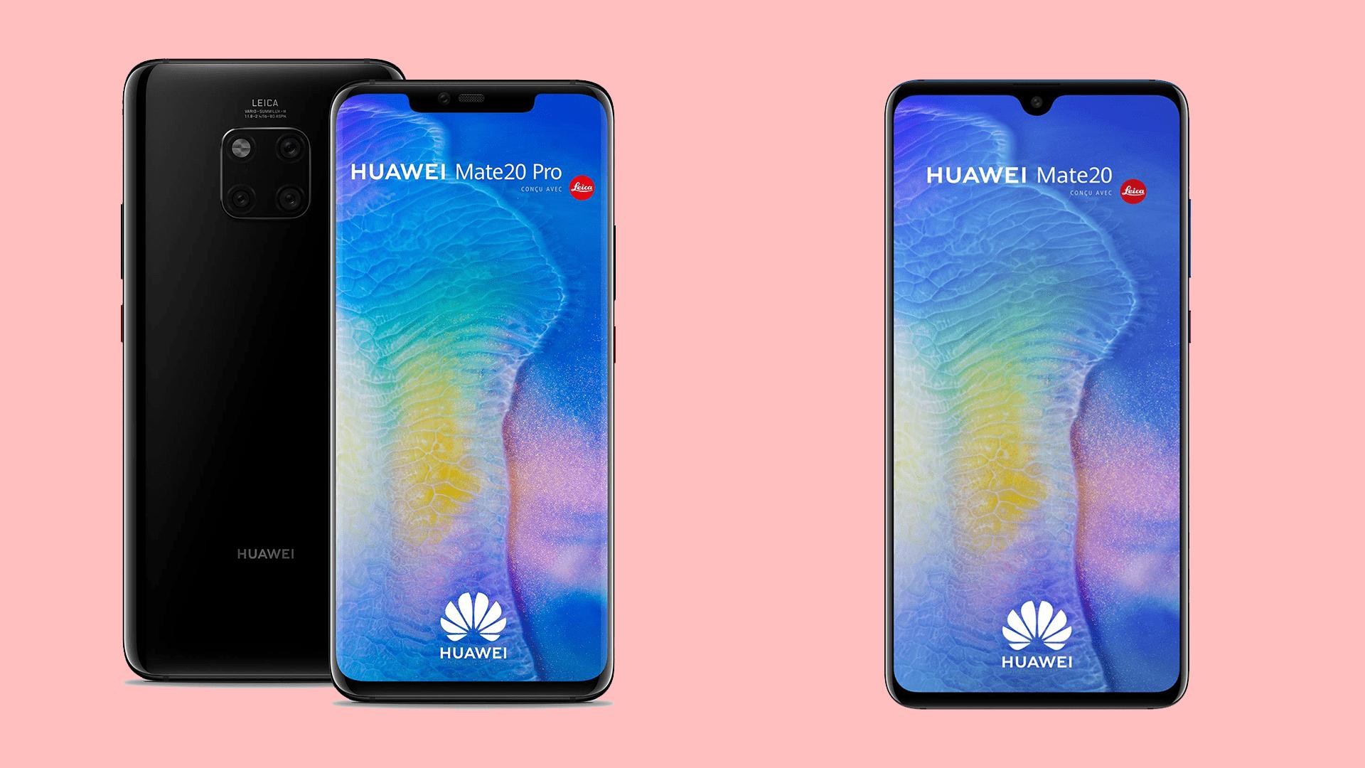 Où acheter les Huawei Mate 20 et Mate 20 Pro au meilleur prix en 2020 ?