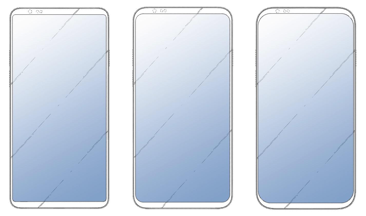 LG : trois nouveaux design de smartphone sans encoche avec un quadruple capteur photo
