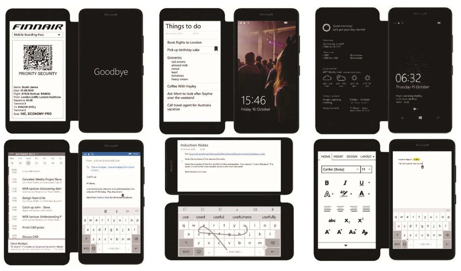 Microsoft développe un étui pour smartphones avec écran e-ink