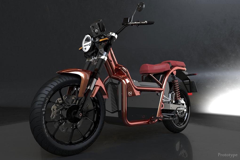 Motos électriques NUUK : le design d'une moto, l'agilité d'un scooter