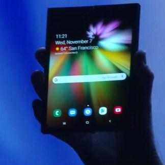 Samsung va produire 1 million de smartphones pliables, pour commencer