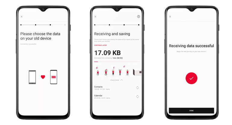OnePlus Switch : le transfert de données d'iOS vers Android est disponible